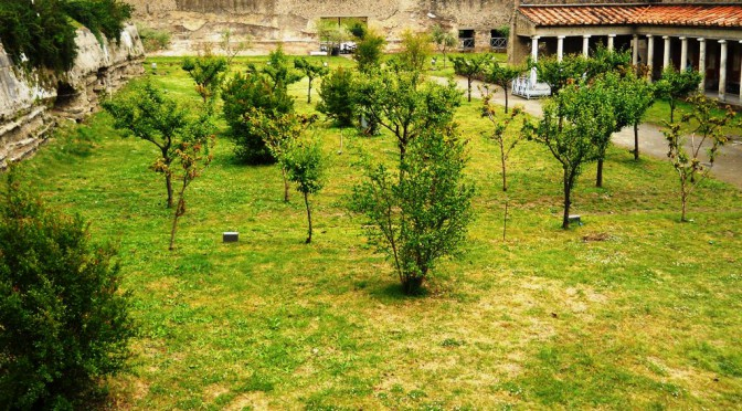 Garden in the Villa of Poppaea
